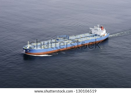 Ship Aerial View