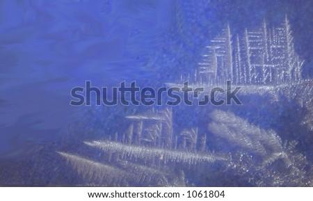 Ship Snowflake - stock photo