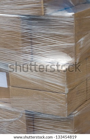 shipping - stock photo