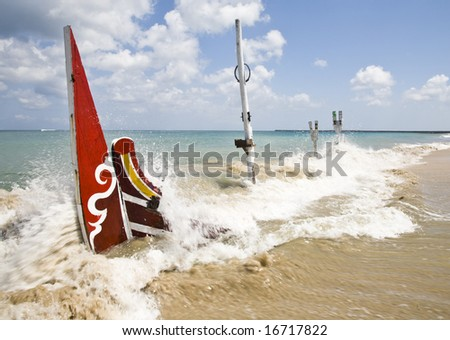 Shipwreck - stock photo
