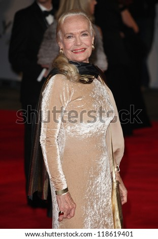 Shirley Eaton arriving for the Royal World Premiere of 'Skyfall' at Royal Albert Hall, London. 23/10/2012 Picture by: Alexandra Glen