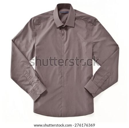 shirt isolated - stock photo