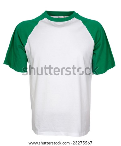 shirt isolated on the white background - stock photo