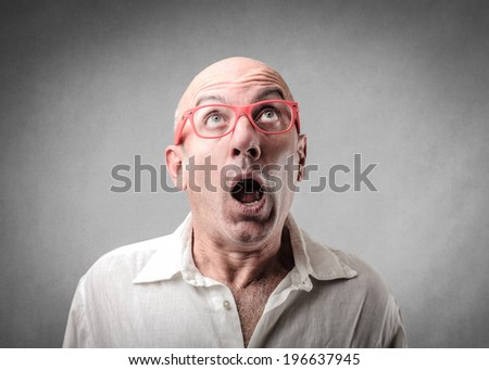 shock - stock photo