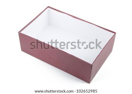 Shoe box - stock photo