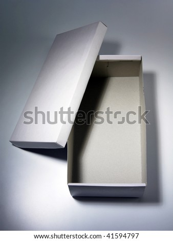 Shoe Box - stock photo
