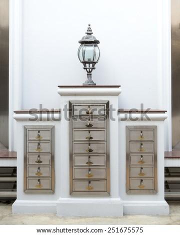 Shoe Cabinet - stock photo