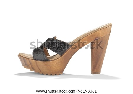 Shoe high heel - stock photo