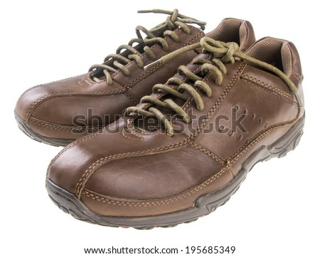 shoe. men's fashion shoe on background
