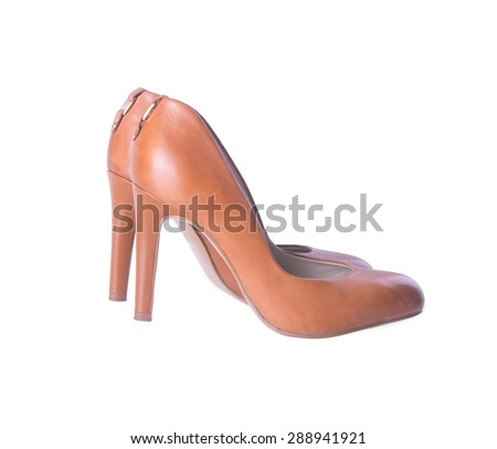 shoe. woman shoe on background. woman shoe on a background - stock photo