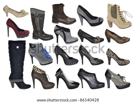 shoes - stock photo