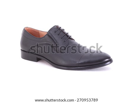 Shoes for a young man, for daily use