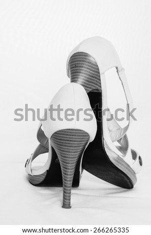 Shoes - high heels - stock photo