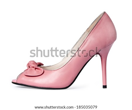 shoes isolated on a white background.