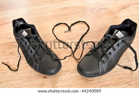 Shoes of love - stock photo