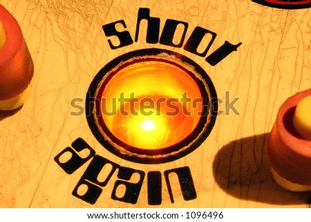 shoot again - stock photo