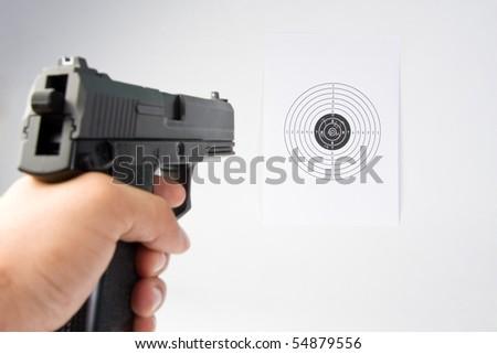 Shooting - stock photo