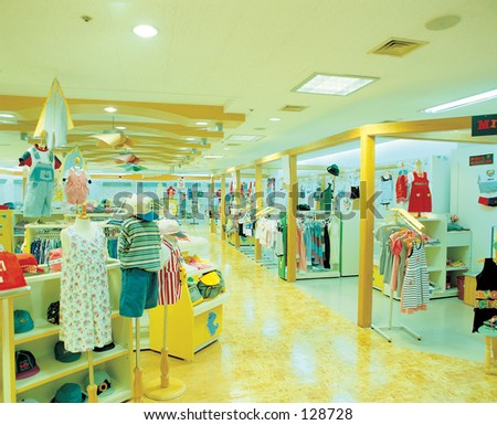 Shop - stock photo