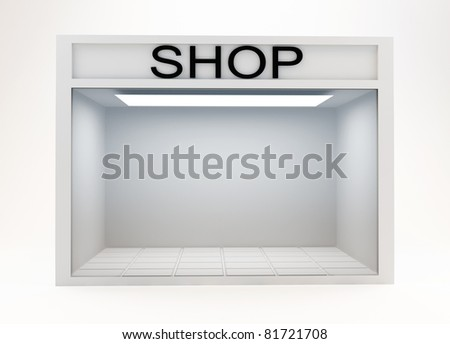 Shop Front - stock photo