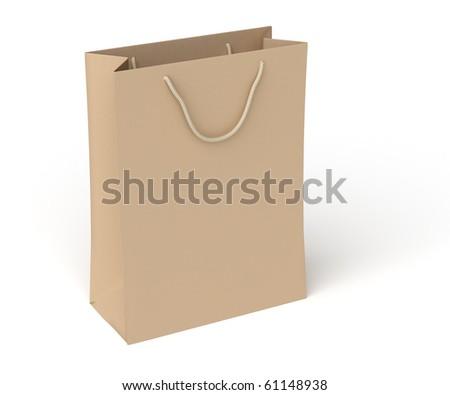 shopping bag - stock photo