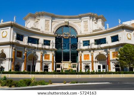 Shopping Center in Las Vegas - stock photo