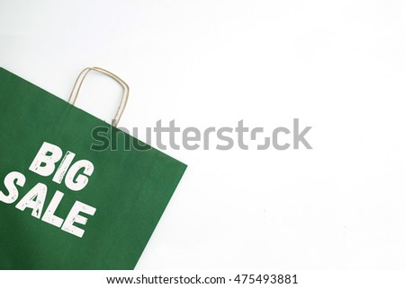 Shopping Concept: BIG SALE
