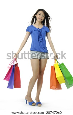 Shopping pretty woman