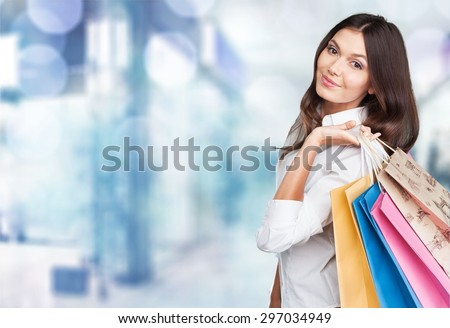 Shopping, retail, bags.