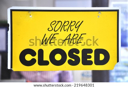 Shopping sign board  - stock photo