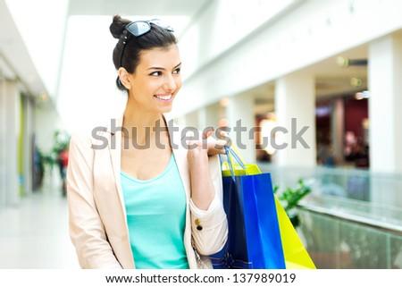 Shopping time - stock photo