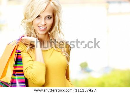 Shopping women - stock photo