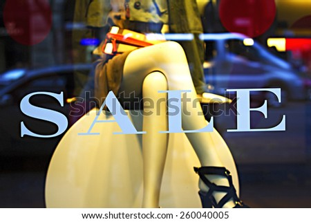 Shopwindow - stock photo