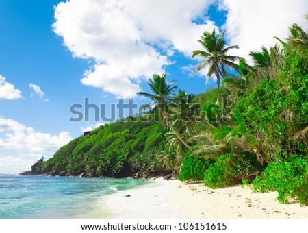 Shore Landscape Tranquility - stock photo