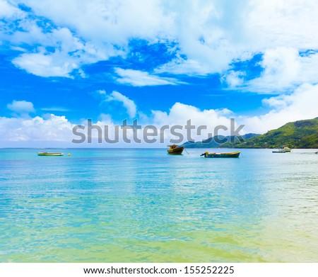 Shore Panorama Dream  - stock photo