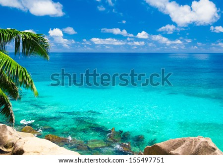 Shore Summertime Bay  - stock photo