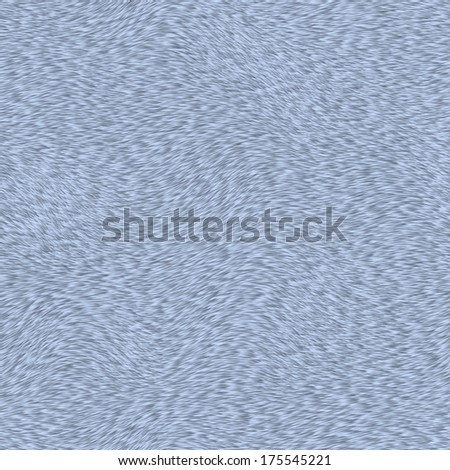 short blue fur texture - stock photo
