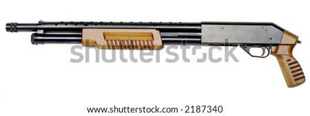 short pump riffle - stock photo