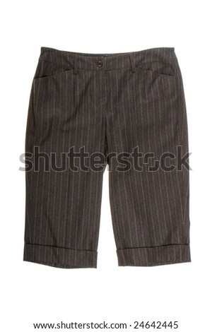 shorts isolated on white