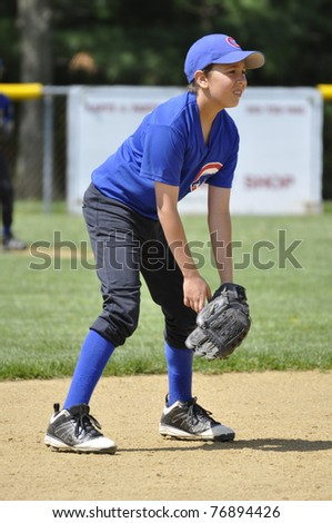 Shortstop - stock photo