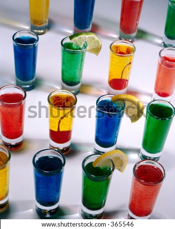 Shot Glasses - stock photo