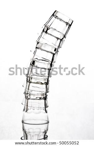 shot glasses - stock photo