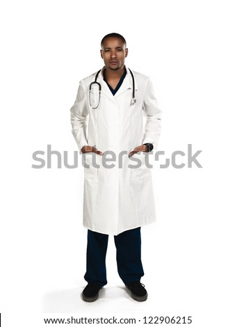 Shot of a doctor with his hands in his pocket