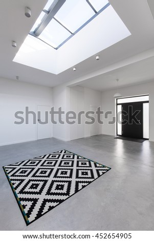 Shot of a spacious empty room