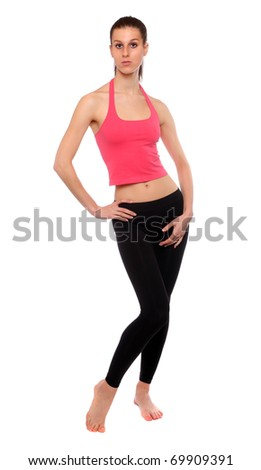 Shot of a sporty young woman. Active lifestyle.
