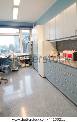 Shot of the room for medical procedures - stock photo