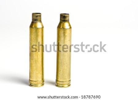 shot of used cartridge - stock photo