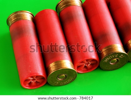 Shotgun shells - stock photo