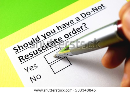 Do Not Resuscitate Stock Images RoyaltyFree Images  Vectors
