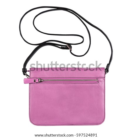 Shoulder bag military, Isolated on a white background