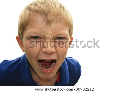 Shouting Boy Child